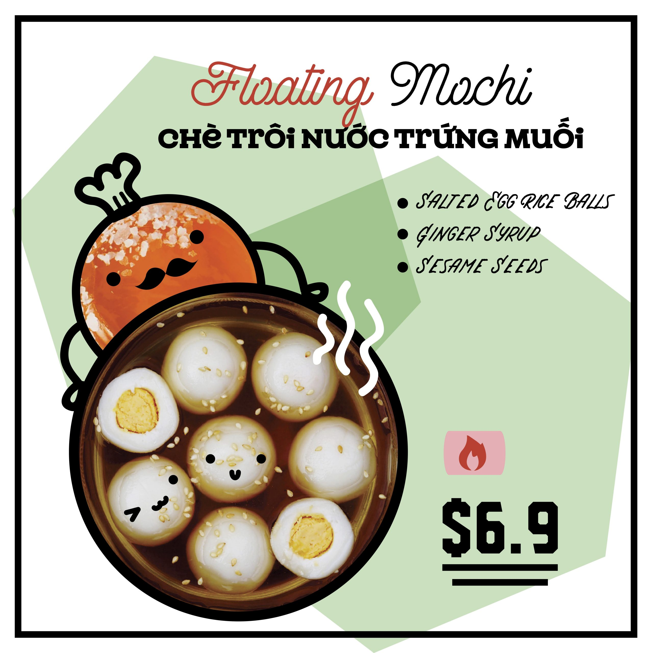 Floating Mochi Che
